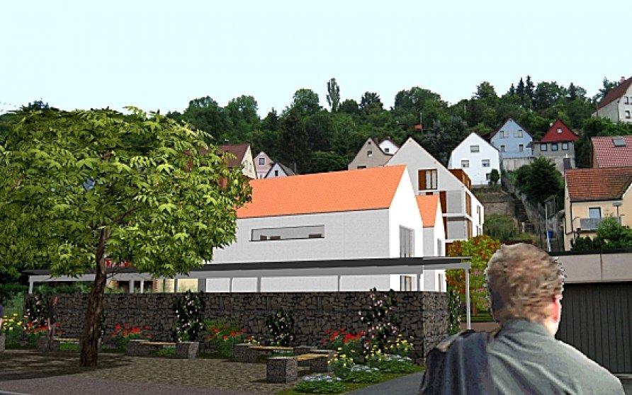 """Bebauungsvorschlag """"Alte Schule"""" Unterdürrbach"""