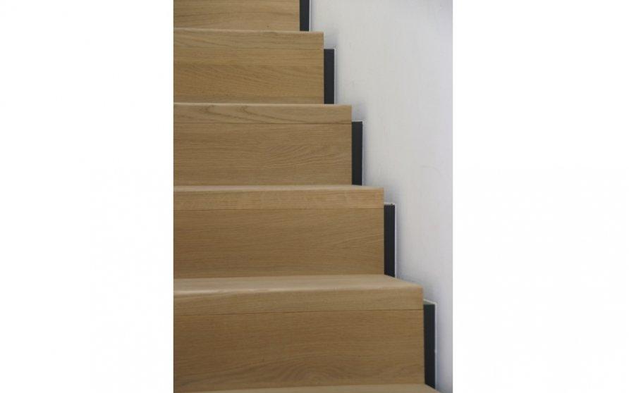 Detail Treppenlauf ins Obergeschoss