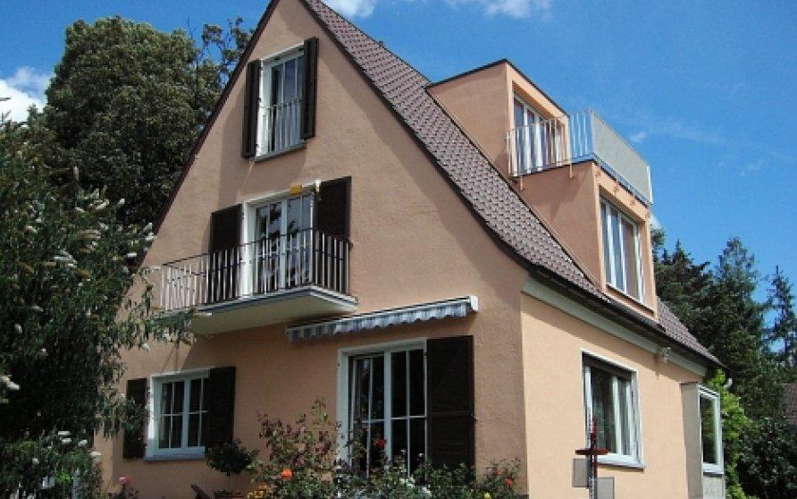 Umbau und Modernisierung eines Einfamilienhauses in Würzburg