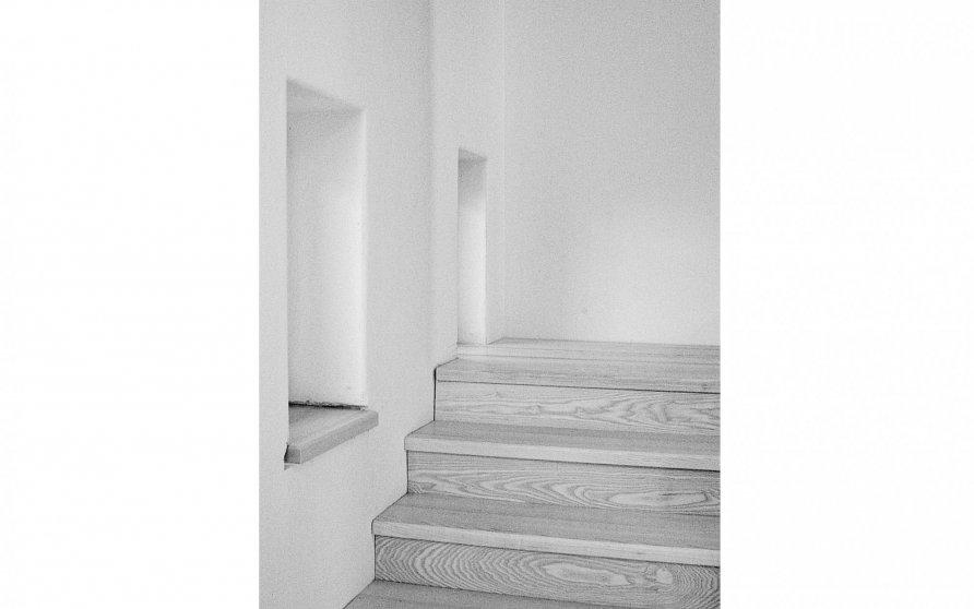 Treppe zur Arbeitsgalerie