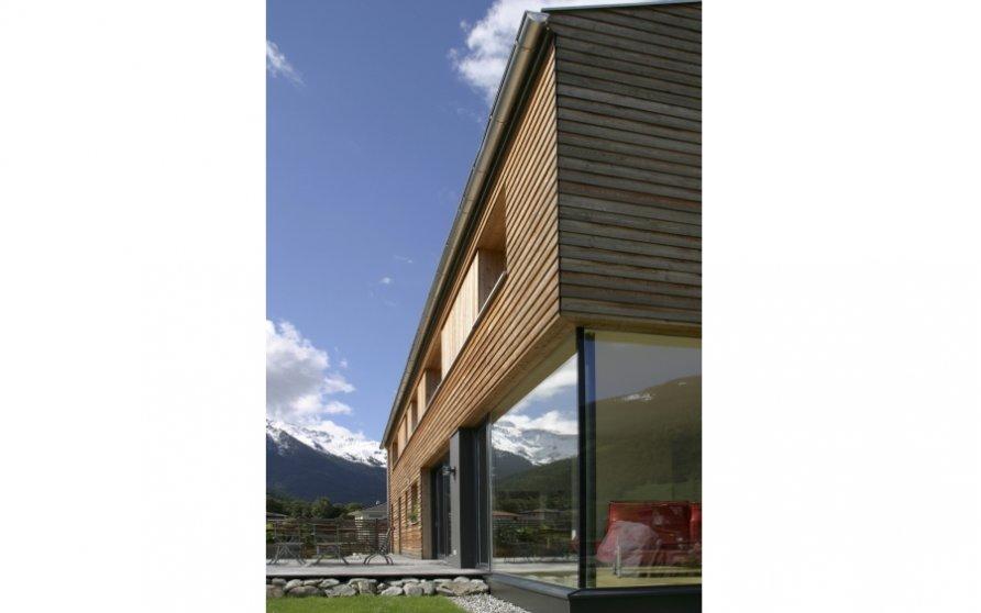 Übereck-Verglasung Wohnzimmer