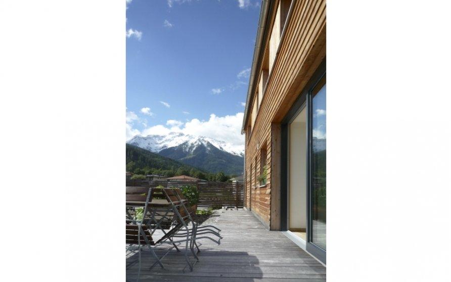 Terrasse vor Esszimmer