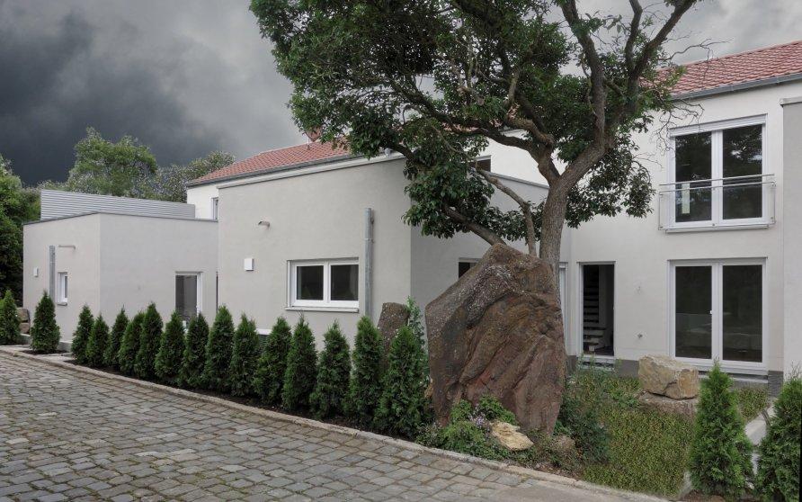 Neubau einer Reihenhausanlage in Unterpleichfeld