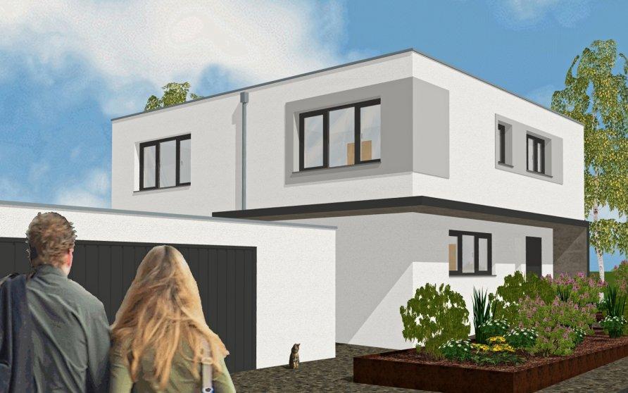 Neubau eines Einfamilienhauses in Wiesentheid