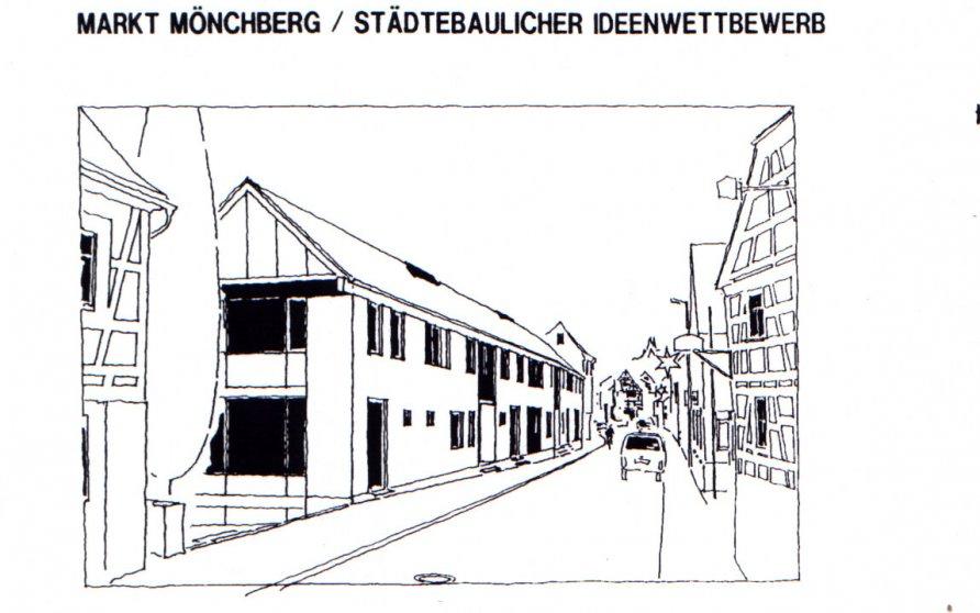 """Städtebaulicher Ideenwettbewerb """"Markt Mönchberg"""""""