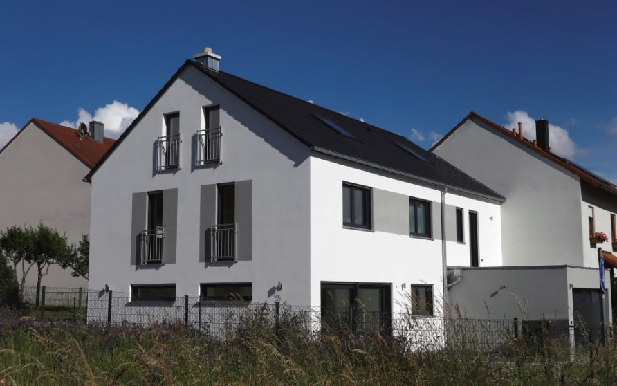 Neubau Doppelhaushälfte in Thüngersheim