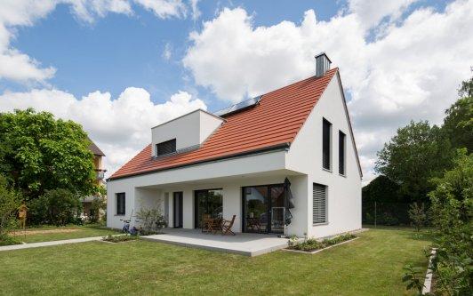 Neubau eines Einfamilienhauses in Würzburg