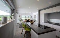 Blick von Küche Richtung Essplatz