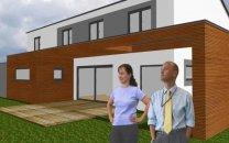 Neubau eines Einfamilienhauses in Greßthal